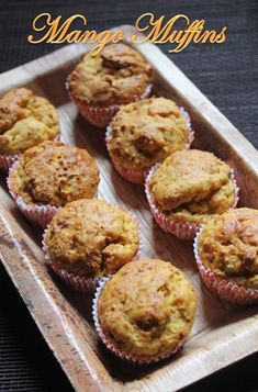 YUMMY TUMMY: Eggless Mango Muffins Recipe