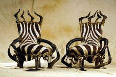 Tribal and Gothic Furniture, creations Exotic Luxury Furniture by ...