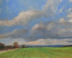 Buy View from the Yorkshire Wolds., Oil painting by Malcolm Ludvigsen on Artfinder. Discover thousands of other original paintings, prints, sculptures and photography from independent artists.