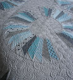 great quilting and love these colors