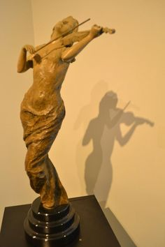 """Happy Birthday to contemporary sculptor, Tuan! Tuan's """"Muse"""" is currently on display in the gallery. #sculpture #contemporaryart #bosarts #newburyst #boston #art"""