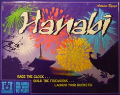 Hanabi - An Intriguing and Innovative Card Game. In this cooperative game, players must launch a Grand Fireworks Finale. Play your cards in a proper sequence then light them to create a dazzling display. Cards On The Table, Deck Of Cards, Card Deck, Puzzle Games For Kids, Puzzles For Kids, Family Game Night, Family Games, Fun Games, Board Games