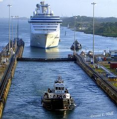 One day I'll be on that cruise ship about to go through the Panama Canal!