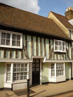 Faversham Medieval House, Kent, UK