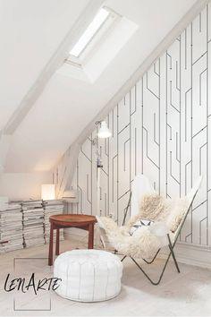 Circuit Wallpaper Linear Black White Wallpaper Easy Stick