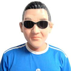 TX Halloween Party Cosplay Full Face Korean Celebrity Star PSY Gangnam Style Mask ... - Shop with NAUGHTYFOX
