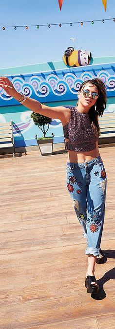 Sofia Richie stars on ASOS Magazine July 2015.