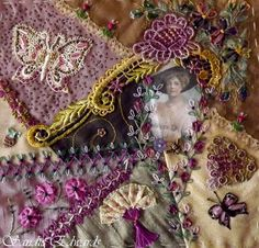 I ❤ crazy quilting . . . by Sandie Edwards Geraldton- of Delightfully Crazy Blog