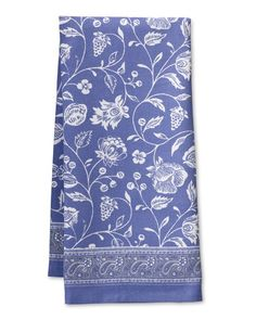 Sommieres Towels, Set of 2, Blue