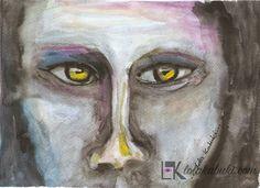 THE BOSS | Lola Kabuki  #love #art #watercolor #paintings #illustration