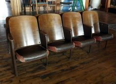 salvage one theater seats - Google Search