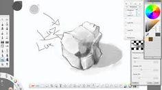 Resultado de imagen para dibujos de rocas