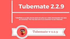 Tubemate 2.2.9 Free Download- Latest Version of Tubemate[Safe] Video Site, All Video, Thriller Video, Video Downloader App, Medical Surgical Nursing, Popular Sites, Download Video, Latest Movies, Entertainment