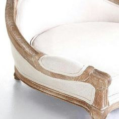 Dog bed- what a great idea! Cut the legs off of an old or antique chair and use as a dog bed! Shabby Chic for Canines!