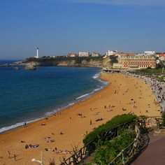 One of my all time favorite cities! About an hour or so train ride from San Sebastian.  Went here for the first time in high school...love, love, love!   Biarritz | France (by Eaglefort)