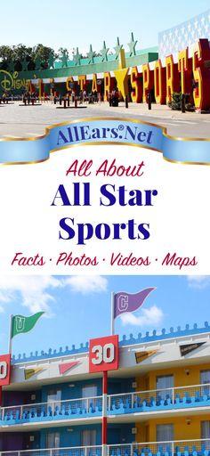 All About Disney's All Star Sports Resort at Walt Disney World   AllEars.net
