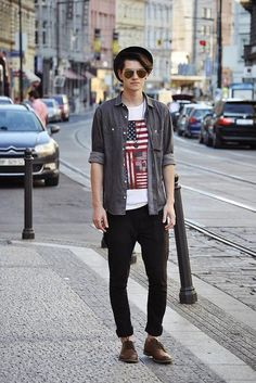 Men's Street Style Outfits For Cool Guys (8)