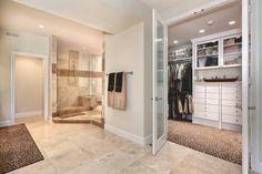 Love this walk in wardrobe, spacious bedroom with ensuite