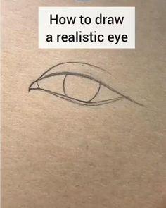 Art Drawings Sketches Simple, Pencil Art Drawings, Easy Drawings, Simple Cute Drawings, Outline Drawings, Realistic Eye Drawing, Drawing Eyes, Easy Eye Drawing, Eyelashes Drawing