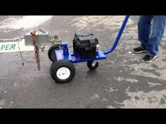 Video of an Airtug Trailer Tug S-E moving a double axle trailer with a Boston Whaler. This Trailer Dolly can move any trailer weighing less than lb. Lawn Trailer, Trailer Dolly, Power Trailer, Trailer Plans, Trailer Build, Bike Trailer, Utility Trailer, Best Trailers, Cargo Trailers