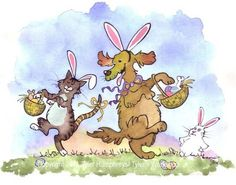 Easter Card  Funny Easter Greeting Card  Funny by tylersworkshop, $3.50