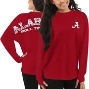Alabama Crimson Tide Women's Aztec Sweeper Long Sleeve Top – Red