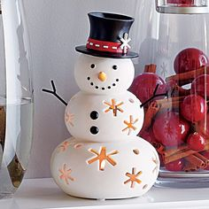Hello, Mr. Snow! #PartyLite #candles