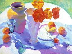 American Artist Carolyn Biggio. Beautiful Still Life Painting ~ Blog of an Art Admirer