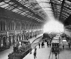 Estación de Retiro, 1915.