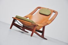 Holmenkollen Recling Chair - Designed by Arne Tidemand Ruud in 1959