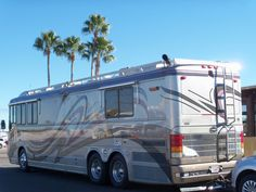 Wanderlodge here in Tucson Camping World, Tent Camping, Camping Trailer For Sale, Camping Trailers, Bluebird Buses, Cool Rvs, Bushcraft Camping, California Camping, Rv Campers