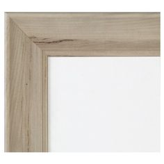 Single Image Frame Whitewash Scoop Mat (11X14), White