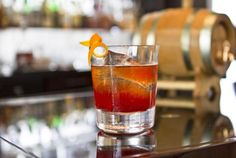 New Old Fashioned with Breaker Craft Bourbon, apple bitters and orange wheel Orange Wheels, Lobby Bar, Leading Hotels, Bar Menu, London Photos, Hotel Reviews, London England, Bourbon, Trip Advisor