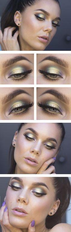 Todays look – Natural gold | Lindas Sminkblogg | Bloglovin