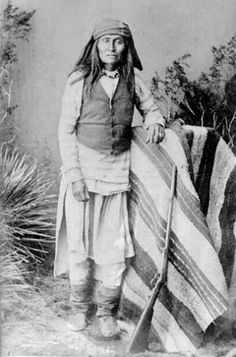 Mangas, son of Mangas Coloradas, uncle to Chief Naiche. 1884 ck