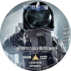 Doctor Who 601 Impossible Astronaut XviD label 2, via Flickr.