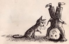 The Quarreling Book, Charlotte Zolotow, illustration Arnold Lobel, 1966 Arnold Lobel, Sweet Drawings, Tinta China, Bd Comics, Ink Illustrations, Vintage Children's Books, Children's Literature, Children's Book Illustration, Cat Art