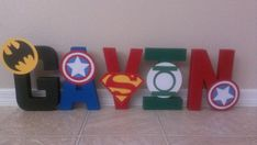 Hey, I found this really awesome Etsy listing at http://www.etsy.com/listing/159055399/superhero-party-superhero-letter-name