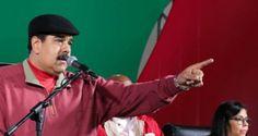 ¡SEGÚN EL POR ESO NO HAY BILLETES! Maduro: Nos roban el papel moneda desde Colombia