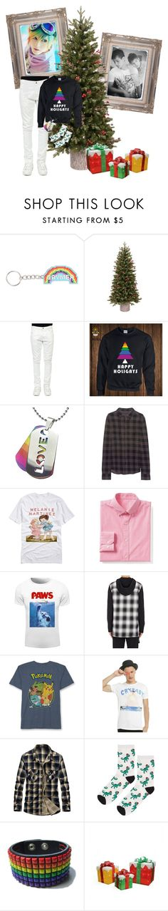"""""""Clayton Christmas (headcannons in the Disc.)"""" by mikaela-madrid ❤ liked on Polyvore featuring GE, Valentino, True Religion, Gap, Helmut Lang, Hybrid, Topshop, Northlight Homestore, men's fashion and menswear"""