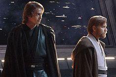 Obi Wan and Anikan Skywalker