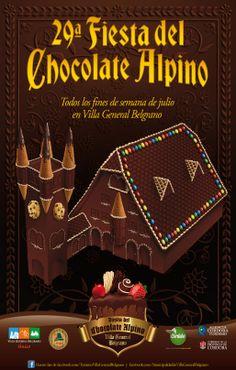 Fiesta del Chocolate Alpino -Villa Gral Belgrano, Córdoba, Argentina.