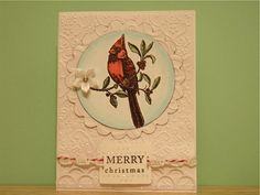 wow Cardinal Christmas by pixxiewacorgi - Cards and Paper Crafts at Splitcoaststampers