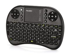 Hausbell Mini Wireless Entertainment Keyboard with Touchpad