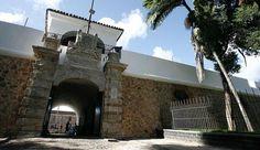 Salvador, Bahia, Brasil - Forte do Barbalho (centro de tortura de presos políticos durante a ditadura)