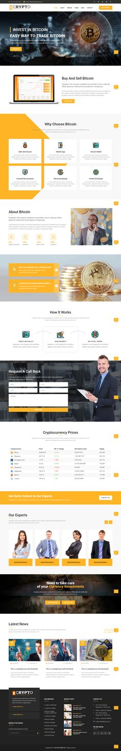 BitCoin is our new Html template created for bitcoin mining websites, crypto currency exchange and trading, digital currencies, finances and business consulting. It's also a perfect template for online digital payment system.  Considering the growing interest of public towards the crypto currencies and their rising popularity, this template has got all the chances to become a successful internet enterprise for mining hardware manufacturer or new cryptocurrency project. Especially if you're
