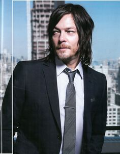 Norman Reedus for Downtown Magazine. Photographed by Leslie Hassler