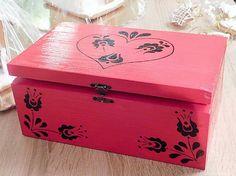 RebekaP / Červeno - čierna krabica