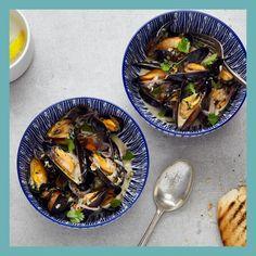Cod Recipes, Bean Recipes, Fish Recipes, Seafood Recipes, Cooking Recipes, Sea Food Salad Recipes, Healthy Recipes, Healthy Meals, Seafood Delivery