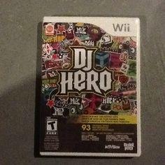 DJ Hero For Nintendo Wii